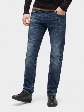 TOM TAILOR DENIM MALE JEANS SLIM FIT CON MICROROTTURE