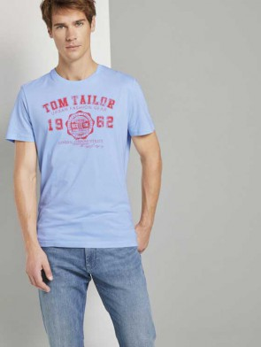 TOM TAILOR CASUAL MAN T-SHIRT CON LOGO