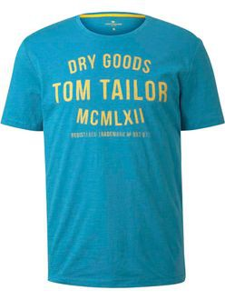 TOM TAILOR CASUAL MAN T-SHIRT CON STAMPA GIROCOLLO