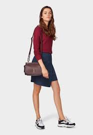TOM TAILOR CASUAL WOMAN GONNA ECOSCAMOSCIATA BLU