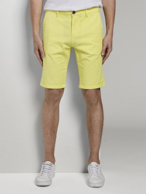 TOM TAILOR DENIM MALE BERMUDA SLIM CHINO (GIALLO) ELASTICIZZATO
