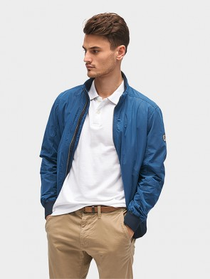TOM TAILOR CASUAL MAN BOMBER TASCHE LATERALI ECERNIERA