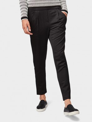 TOM TAILOR CASUAL WOMAN PANTALONE CON PENCE ELASTICO IN VITA